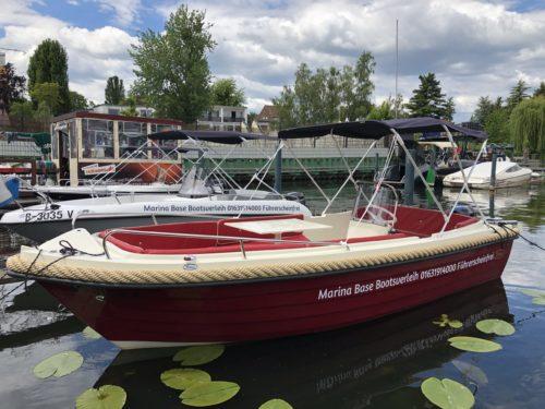 Sloep Red Motorboot