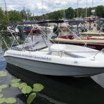 Socke Motorboot für 5 Personen